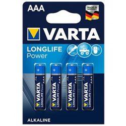 Varta Longlife Power LR03 AAA elem 4db ár/bliszter