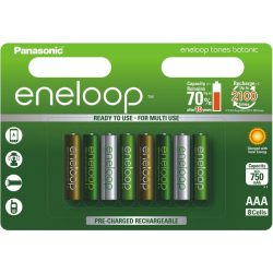 Eneloop Botanic AAA 750mAh Ni-Mh akkumulátor 8db ár/bliszter
