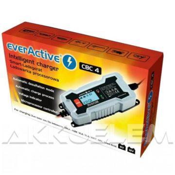 everActive CBC-4 6/12V 4A autó és motor akkumulátor töltő