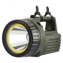Tölthető LED reflektor 10W + 3W COB LED JML3810
