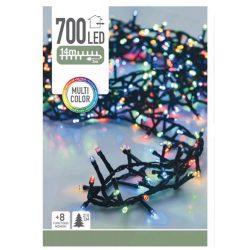 Kültéri fényfüzér 700LED karácsonyi IP44 14m színes 8 funkció