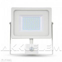 V-TAC PIR 50W 4250lm 4000K LED-reflektor mozgásérzékelős