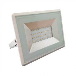 V-TAC E-széria 30W 2550lm 4000K LED-reflektor fehér színű