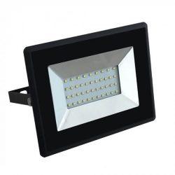V-TAC E-széria 30W 2550lm 4000K LED-reflektor fekete színű
