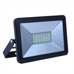 V-TAC E-széria 20W 1700lm 4000K LED-reflektor fekete színű