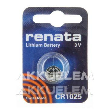 Renata CR1025 3V lítium gombelem