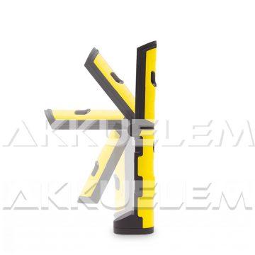 Szerelőlámpa 250lm 1,5W COB LED állítható nyakú, mágneses