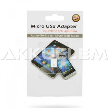 Adapter iPhone Lightning-microUSB átalakító