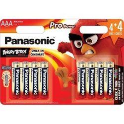 Panasonic PRO Power Angry Birds LR03 AAA alkáli elem 8db ár/bliszter