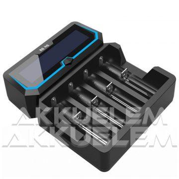 XTAR X4 Li-ion/Ni-MH négy csatornás hálózati/USB-s akkumulátor töltő
