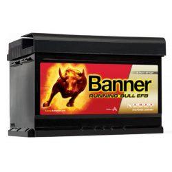 Banner Running Bull EFB 56512 12V 650A 65Ah autó akkumulátor JOBB+