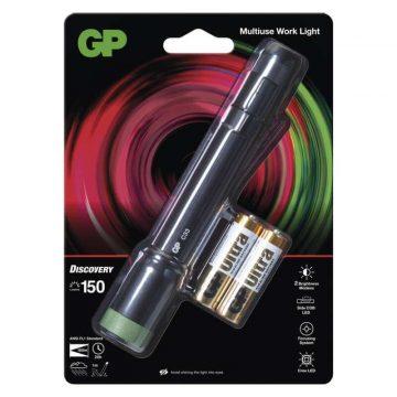GP C33 2xAA 1CREE + 1COB LED fókuszálható kézilámpa