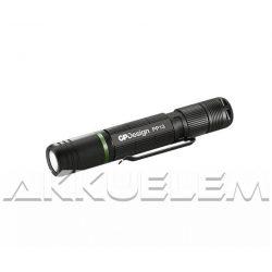 GP PP13 3W 100lm taktikai lámpa Cree XP-E2 LED + AAA elem