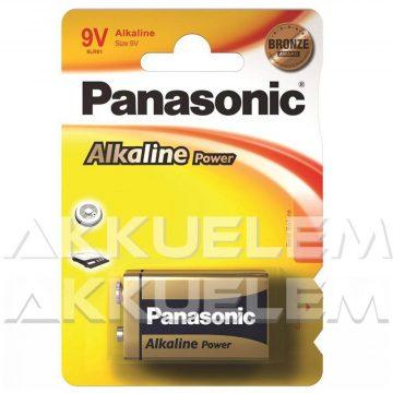 Panasonic Bronze 9V 6LR61 tartós elem