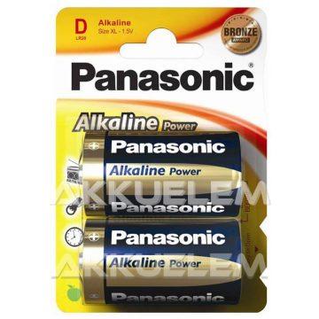 Panasonic Bronze LR20 D alkáli elem 2db/bliszter