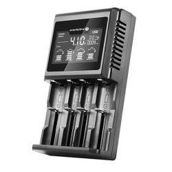 everActive UC-4000 Ni-MH Li-ion LiFePo4 univerzális akkumulátor töltő