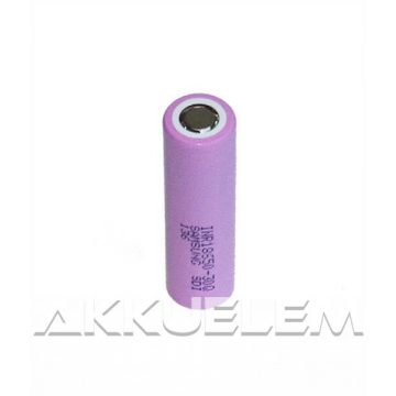 Ipari nagyáramú akkucella 18650 Li-ion 3,6V 3000mAh Samsung 18650-30Q