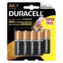 Duracell Basic Duralock MN1500 LR6 AA elem 5db/bliszter