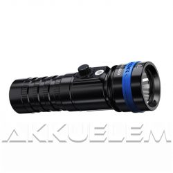 XTAR D26 1600lm búvárlámpa szett MC1 Plus, 26650 5200mAh akkumulátorral