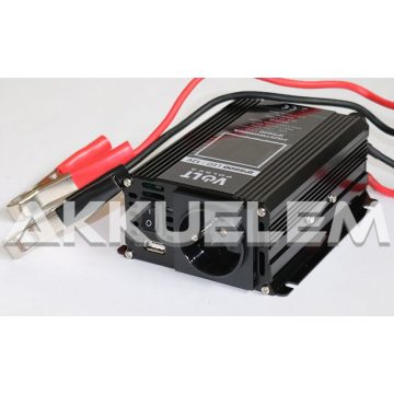 VOLT Polska IPS600 LED 12V 300W/max. 600W trapéz inverter LED-kijelzős