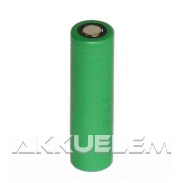 Ipari nagyáramú akkucella 18650 Li-ion 3,6V 2600mAh VTC5
