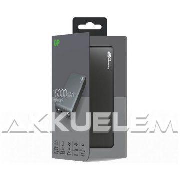 GP 5V 15000mAh külső akkumulátor USB-C, USB, microUSB bemenetekkel MP15MA