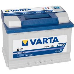 74Ah VARTA Blue Dynamic E12 574013 akkumulátor bal+