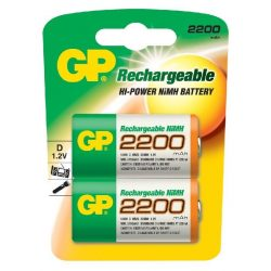 GP 2200mAh D akkumulátor