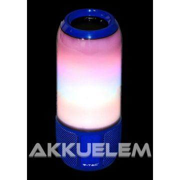 V-TAC 6W RGB LED hangulatlámpa Bluetooth hangszórós SKU8569