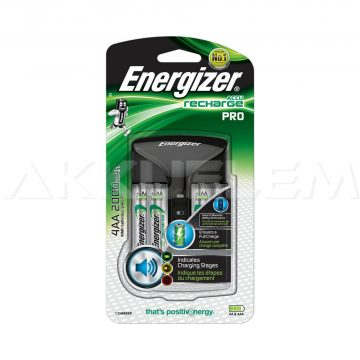 Energizer 3 órás töltő 4db 2000mAh AA akkuval