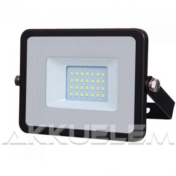 V-TAC 20W 1600lm 4000K 100° fekete színű LED reflektor SAMSUNG chipes