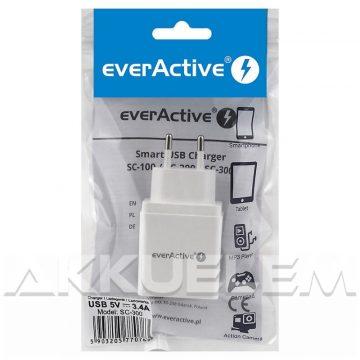 everActive 3xUSB gyorstöltő 5V 3,4A