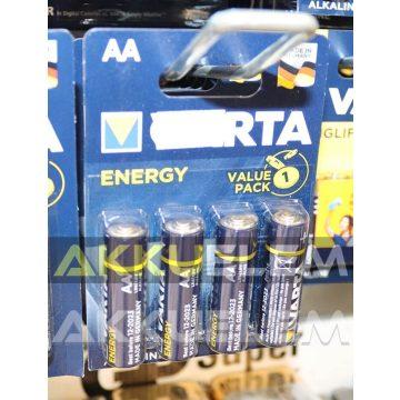 Varta Energy LR6 AA tartós elem 4db/bliszter (ár/db)