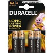 Duracell Basic MN1500 LR6 AA alkáli elem 4db/bliszter (ár/db)