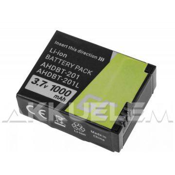 Titan Energy GoPro Hero3 AHDBT-201 950mAh utángyártott akkumulátor
