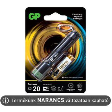 GP CK12 LED kulcstartó lámpa IPX4, NARANCS színű + 1xAAA elem