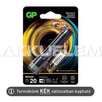 GP CK12 LED kulcstartó lámpa IPX4, KÉK színű + 1xAAA elem