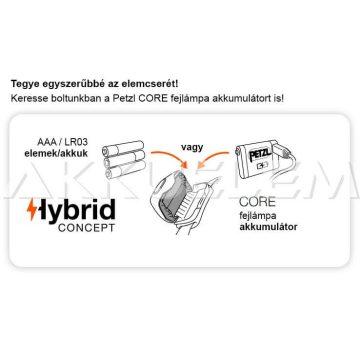 PETZL TIKKA 300lm fejlámpa fekete dizájn E093FA00