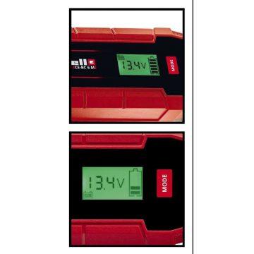 Einhell 6A 12V autó akkumulátor töltő CE-BC 6M