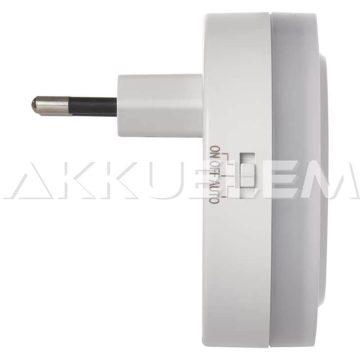 2 x USB töltő adapter 5V 2,4A + éjszakai fény, érzékelővel
