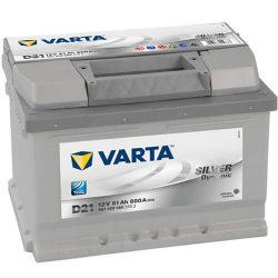 61Ah VARTA Silver Dynamic D21 akkumulátor jobb+ (561 400 060)