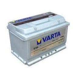 74Ah Varta Silver Dynamic 12V 750A autó akkumulátor E38 jobb+   (574 402 075)