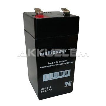 MP 4,5-4 4V/4.5Ah zselés akkumulátor