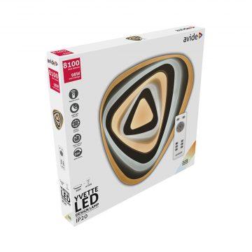 Avide Design YVETTE mennyezeti lámpa 98W távirányítós