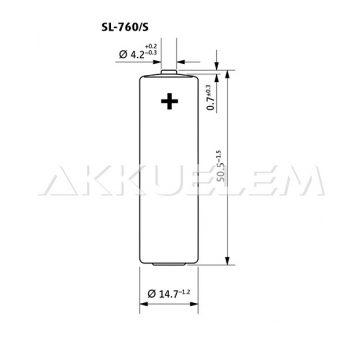 Tadiran ER14505 lítium elem SL-760/S AA
