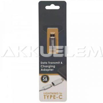 Adapter iPhone Lightning-Type-C átalakító