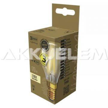 Vintage E14 2W 2200K WW 18W 170lm LED classic LED izzó