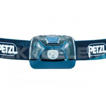 Petzl TIKKA kék fejlámpa 300lum 3xAAA E093FA01