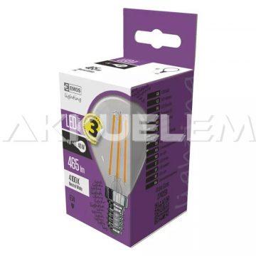 Classic E14 465lm 4W 40W 4000K LED Filament NW kisgömb A++ LED-izzó