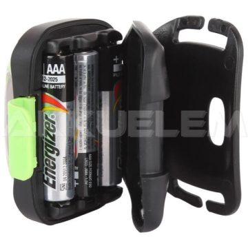 Energizer Vision HD LED 350lum fejlámpa IPX4, ZÖLD dizájn, 80m + 3xAAA